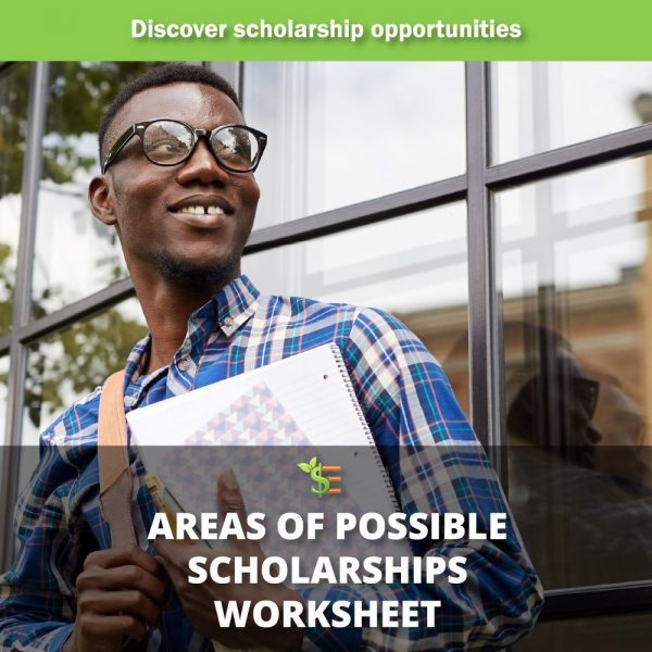 areas of possible scholarships